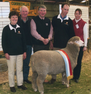 Supreme Longwool Exhibit - Haven Park Statesman